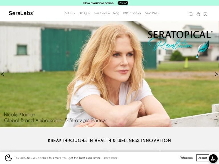 Sera Labs CBD Oil screenshot