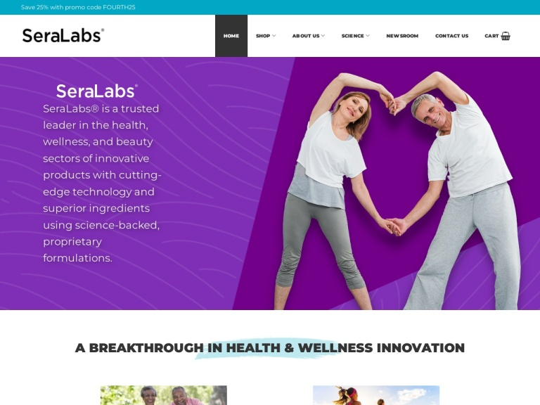 Sera Labs Cbd screenshot