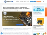Presenting the Best Preventive Maintenance Management Software for Manufacturing Plants