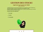 GESTION DES STOCKS AVEC CODE VBA