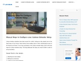 Get Help To Access Linksys Extender Setup Page