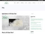 Applications of AR Glass Fiber