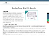 Cooling Tower Grid Fills Manufacturer Supplier in Mumbai India