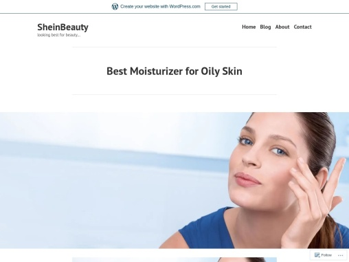 Best Moisturizer for Oily Skin