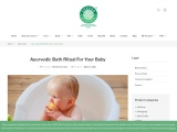 Ayurvedic Bath Ritual For Your Baby