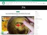 Ayurvedic Rejuvenation with Shesha Ayurveda