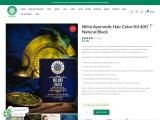 Buy Nilini Ayurvedic Hair Color Kit
