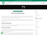 Skin Care with Ayurveda – Shesha Ayurveda