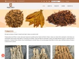tobacco export and import,  Grade A, Grade B, and Grade C tobacco