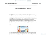 Book Fairs in India | Literature Festivals in India