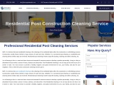 Residential Post Construction Cleaning