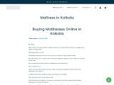 Buy Mattress in Kolkata | Best Mattress in India