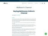 Buy Mattress in Chennai | Best Mattress in India
