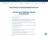 Mattress In Gurgaon   Best Mattress In India