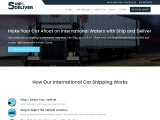 International Car Shipping with Ship and Deliver