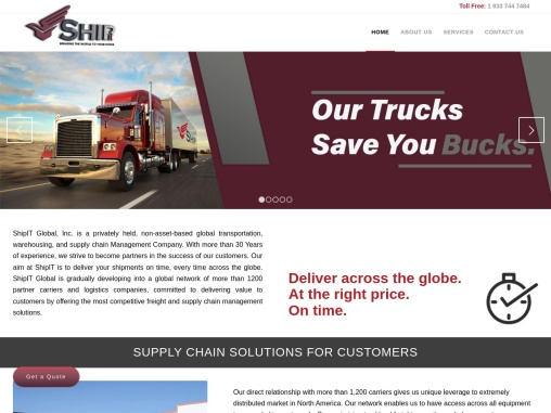 SUPPLY CHAIN SOLUTIONS FOR CUSTOMERS