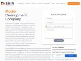 Hire Flutter App Developers- Shiv Technolabs