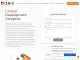 Hire Dedicated Laravel Developers- Shiv Technolabs