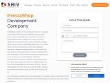 Prestashop Development Services- Shiv Technolabs