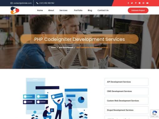 Top PHP Codeigniter Development Company in Australia – Shiv Technolabs