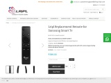 Buy Samsung LED/LCD TV Remote Control Online at Low Price in India