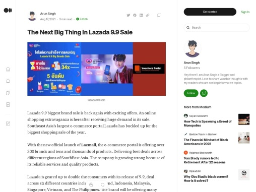 The Next Big Thing In Lazada 9.9 Sale