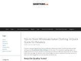 Italian Dresses UK – Italian Wholesale!