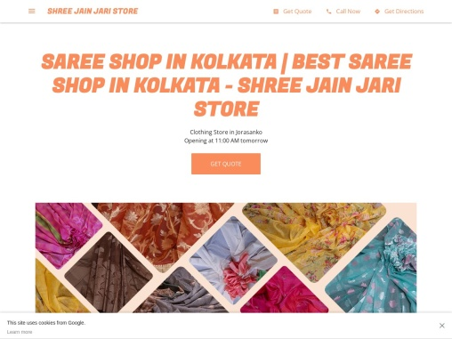 Silk Saree | Kota Silk | Moonga Silk | Jain Jari Store
