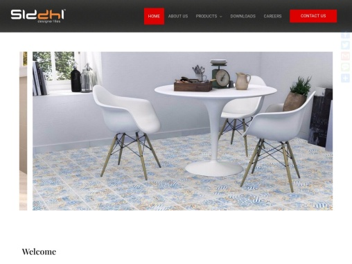 Siddhi Designer Tiles – Living Space Ideas & Products