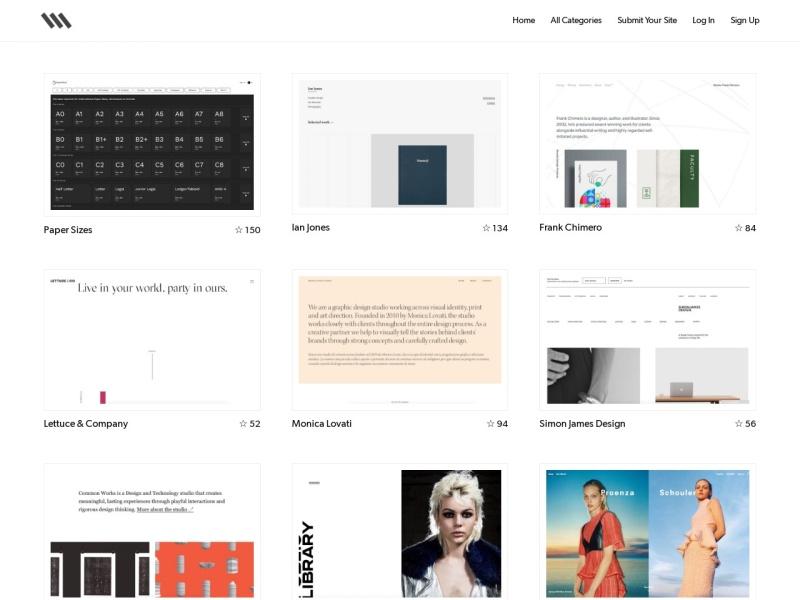 Siiimple | シンプルなウェブデザインを集めた【海外】ウェブデザインギャラリーサイト