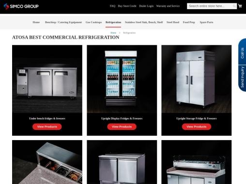 commercial refrigeration supplier