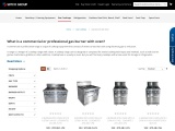 Commercial Gas Burners with Oven