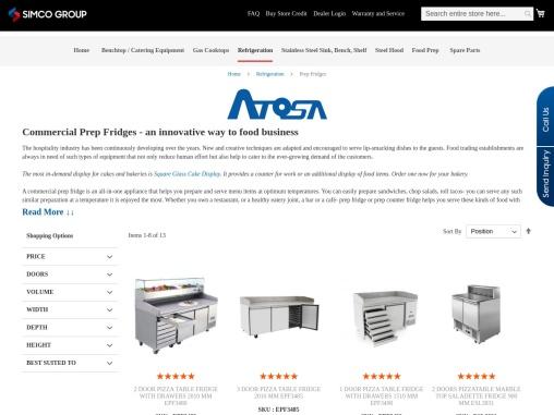 Commercial Prep Fridges Supplier Across Australia