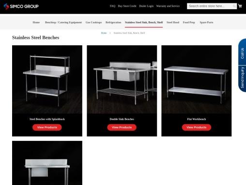 Stainless Steel Benches, Sinks, Shelf Supplier Across Australia