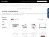 Flat Stainless Steel Workbench