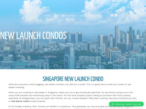 best new launch condo in Singapore