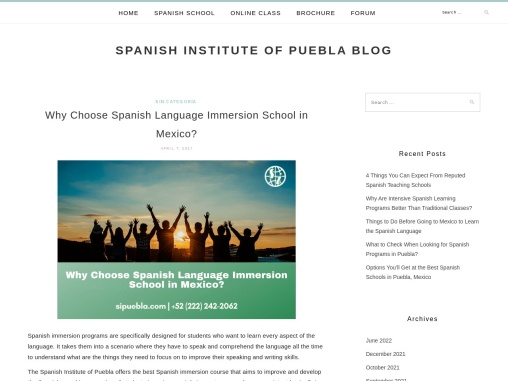 Why Choose Spanish Language Immersion School in Mexico?