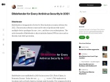 Bitdefender for Every Antivirus Security In 2021