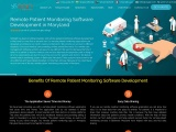 Remote patient monitoring Software Development in Maryland