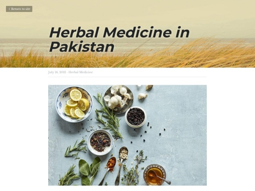 Herbal Store – Best Hakeem in Pakistan