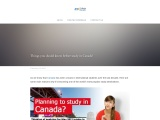Things you should know before study in Canada?