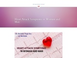 Heart Attack Symptoms in Woman and Man