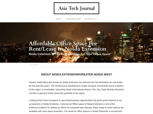 Affordable Office Space For Rent/Lease In Noida Extension