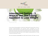 Weight Loss – Lose Weight Fast