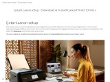 ij.start.canon setup – Download or Install Canon Printer Drivers