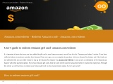 amazon.com/redeem – Enter code redeem amazon gift card