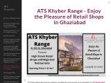 ATS Khyber Range – Enjoy the Pleasure of Retail Shops in Ghaziabad