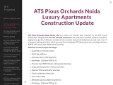 ATS Pious Orchards Noida Luxury Apartments Construction Update