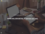 WWW.AVG.COM/RETAIL to Activate your AVG