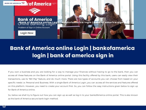 How to open bank of America account online
